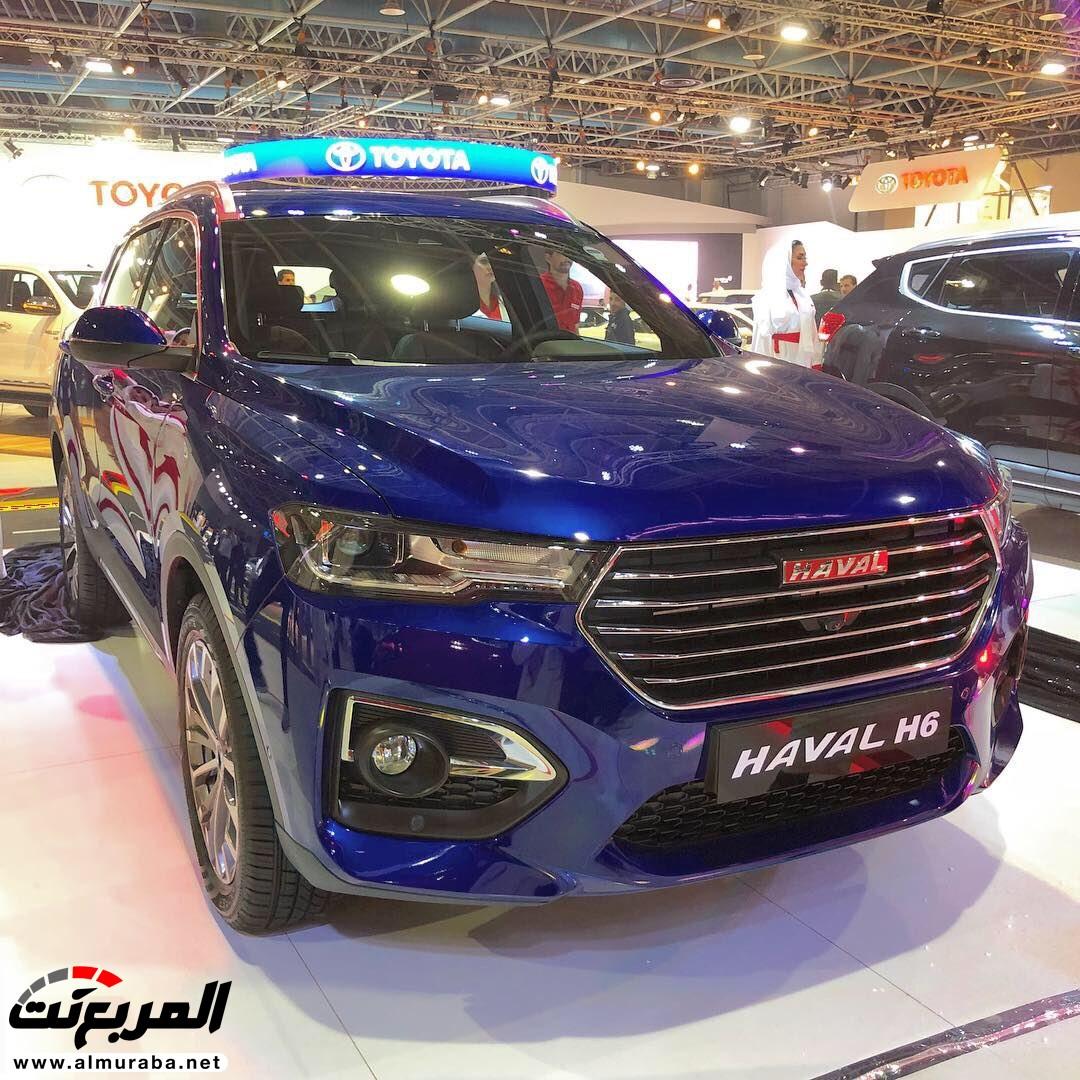 هافال السعودية تدشن H6 2019 الجديدة في معرض السيارات السعودي الدولي المربع نت