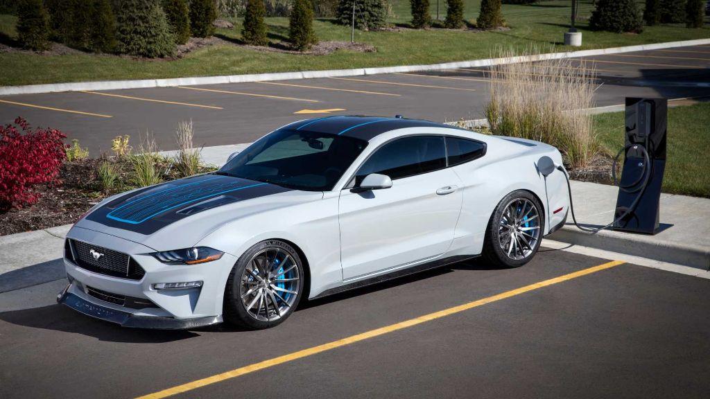 Mustang Lithium EV الاختبارية